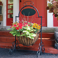 Classic Ironwork Welcome Planter