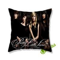 Pretty Little Liars Photoshoot Square Pillow Cover