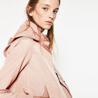 WATER REPELLENT JACKET - Jackets-OUTERWEAR-WOMAN | ZARA United States