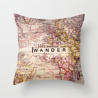 wander Throw Pillow by Sylvia Cook Photography | Society6
