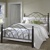 Hillsdale Vista Bed Set - Queen - Rails not included