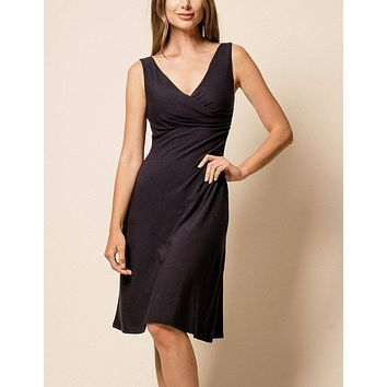 Bamboo Two-Way Black Dress