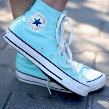 Converse Fashion Canvas Flats Sneakers Sport Shoes-11
