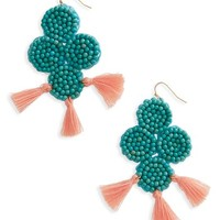 Panacea Beaded Statement Earrings | Nordstrom