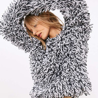 Glamorous Loopy Fringe Pullover Sweater - Urban Outfitters