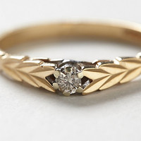 Vintage Field Diamond Lover's Ring