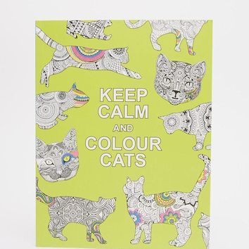 Books   Keep Calm & Color Cats Colouring Book at ASOS
