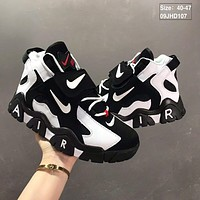 Nike Air Barrage Mid QS Black/White/Red