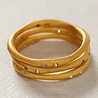 Matched Sliver Stacked Rings