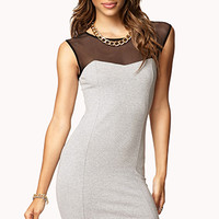 FOREVER 21 Colorblocked Bodycon Dress
