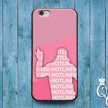 iPhone 4 4s 5 5s 5c 6 6s plus + iPod Touch 4th 5th 6th Gen Cute Music Dance Finger Point 1 800 Hot Line Bling Phone Cover Funny Pink Case