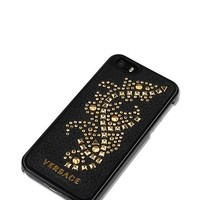 Versace - Iphone 5 Studded Leather Cover