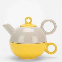 Colorblock Tea For One Set-