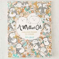 A Million Cats: Fabulous Felines To Color By Lulu Mayo