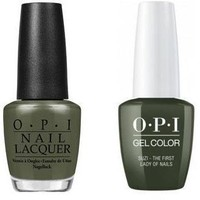 OPI - Gel & Lacquer Combo - Suzi The First Lady of Nails