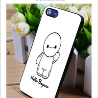 hello baymax iPhone for 4 5 5c 6 Plus Case, Samsung Galaxy for S3 S4 S5 Note 3 4 Case, iPod for 4 5 Case, HtC One for M7 M8 and Nexus Case