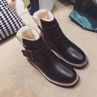 ASH Women Casual Low Heeled Shoes Boots-1