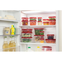 40 Piece Rubbermaid  Easy Find Lids Plastic Food Storage Containers Set