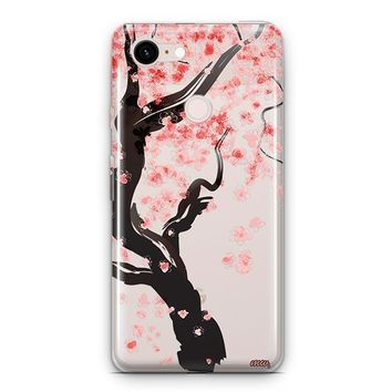 Cherry Blossom Tree Google Pixel 3 Clear Case
