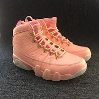 Nike Air Jordan Retro 9 GS Sakura Pink Women Sneakers Sports Shoes