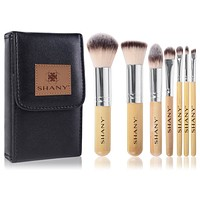 I love Bamboo - 7pc Petite Pro Bamboo brush set with Carrying Case