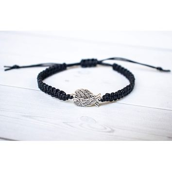 Small Angel Wings Bracelet