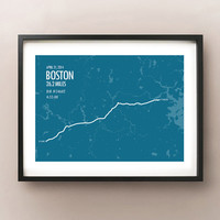 Boston Marathon Print 2014