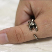 2 rings, Sweet mouse ring adjustable  2 for $6 fun ring, jewelry, fashion, animal