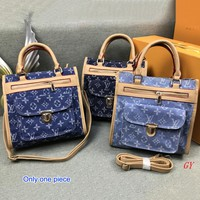 LV popular women's fashion printed color shoulder bag