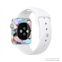 The Multicolored Candy Hearts Full-Body Skin Kit for the Apple Watch