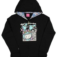 Tokidoki x Hello Kitty Womens' Kawaii Kitty Kaiju Hoodie Jacket