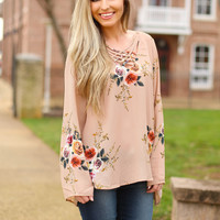 Beauty In Everything top - taupe