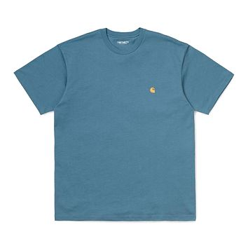Chase T-Shirt in Mossa