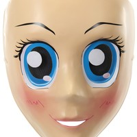 Anime Mask Blue Eyes awesome scary Alien