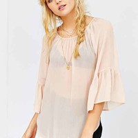 Ecote Bell-Sleeve Top-