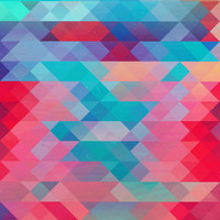 TRIANGLE 2 Art Print by Hands In The Sky