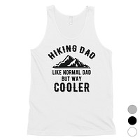 Hiking Dad Mens Encouraging Grateful Sleeveless Top Gift For Dads