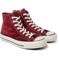 Converse - 1970s Chuck Taylor All Star Suede High-Top Sneakers   MR PORTER