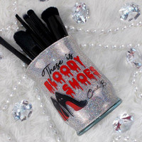 Bloody Shoes || Makeup Brush Holder