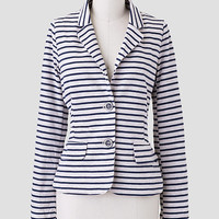 Northern Shore Striped Blazer