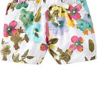 Pull-On Poplin Shorts for Baby