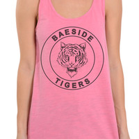 BAEside High Saved By the Bell Top - Oversized Racerback Tank