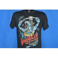 80s Van Halen Kicks Ass Metal Beast t-shirt Medium