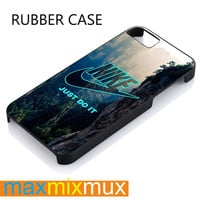 Nike Just Do It Mountain iPhone 4/4S, 5/5S, 5C, 6/6 Plus Series Rubber Case