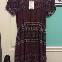 Plum Aztec Print Dress! Urban Outfitters NEW with the tag!