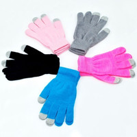 Magic Touch Screen Gloves Smartphone Texting Stretch Adult One Pari Winter Knit = 1958438980