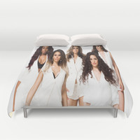 Fifth Harmony Duvet Cover by Raquel S