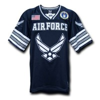 Rapid Dominance US Air Force Military Football Jersey
