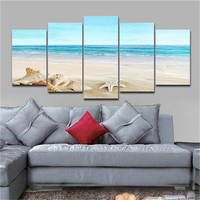 Modern Canvas Print Picture Photo Seascape Beach Landscape Frameless Home Decor