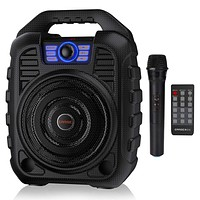 XpertMatic T26 Portable PA System Bluetooth Speaker & Wireless Microphone